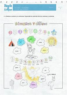 colors and numbers worksheets 18744 colors and numbers worksheet rockalingua