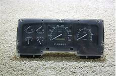 automotive service manuals 2002 ford f series instrument cluster rv components used 1996 1997 ford rv f series dash cluster f6td 10849 bb for sale motorhome