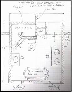 design a bathroom floor plan floor plan layout large shower bathroom best small