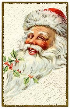 vintage clip jolly santa the graphics