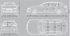 Audi A4 Dimensions 2015 Uk Exterior And Interior Sizes