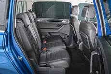 volkswagen touran boot space size seats what car