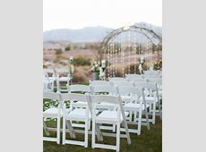 Resin Folding Chair ? White ? RSVP Party Rentals