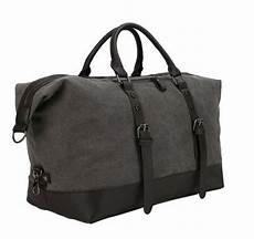 large s vintage high capacity canvas duffle