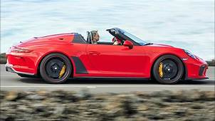 2019 Porsche 911 Speedster  Lightweight Sports Car