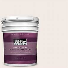 behr ultra 5 gal ppu5 09 bleached linen eggshell enamel interior paint and primer in one