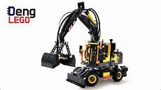 lego technic 42053 volvo ew160e lego speed build