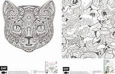 Ausmalbilder Ornamente Tiere Zauberhafte Schablonen Zum Ausmalen Laviva