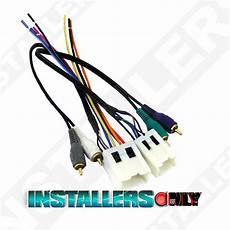 94 nissan truck stereo wiring aftermarket car stereo radio wiring harness 7551 wire adapter for nissan ebay