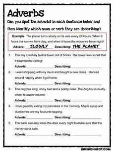 adverbs worksheets school ideas pinterest adverbs worksheets and nouns worksheet