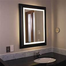 15 best large illuminated mirrors
