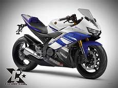 Yamaha R15 Modif by Konsep Modifikasi Yamaha R15 Headl Soul Gt125 Bluecore