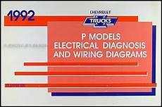 1992 chevy p30 wiring diagram 1992 chevrolet p motorhome and forward wiring diagram manual