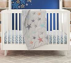 heathered jersey star crib fitted sheet pottery barn kids
