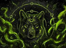 cool green wolf wallpaper wolf wallpaper and background image 1600x1174 id