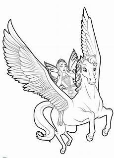 Malvorlagen Unicorn Versi Unicorn Coloring Pages Flying With Unicorn