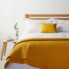 house by lewis jersey bedspread navy mustard bedding bed spreads yellow bedding