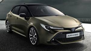 New Toyota Auris Hints At Next Gen Corolla Sedan Design