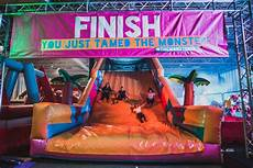 the obstacle course is