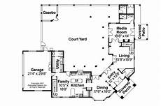 l shaped house plans with courtyard bedroom spanish mediterranean house plans two story l