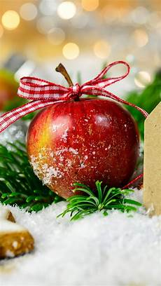 wallpaper merry christmas apple star cookies snow 5120x2880 uhd 5k picture image