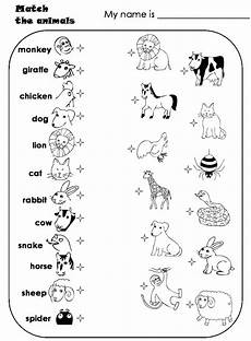 animal recognition worksheets 14025 una maleta de colores animals theme