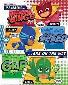 pj masks on the way print at allposters