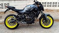 yamaha mt 07 sc project yamaha mt07 sc project sound and mods