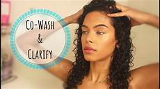 how to co wash clarify your hair sunkissalba youtube