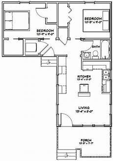 small l shaped house plans 14x32 house 14x32h1v 643 sq ft excellent floor