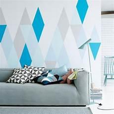 Wandgestaltung Und Deko In Zarten Farben Wandtechniken