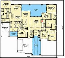 multi generational house plans multi generational ranch home plan 42526db