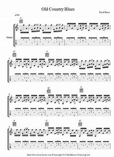 david bruce old country sheet music for guitar 8notes com
