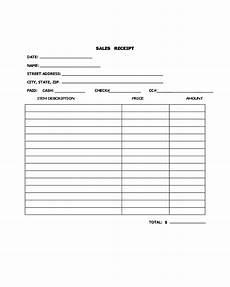 2020 sales receipt form fillable printable pdf forms handypdf