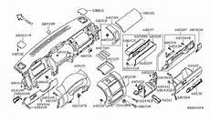 2006 nissan pathfinder engine diagram 68259 ea10c genuine nissan 68259ea10c lid cluster