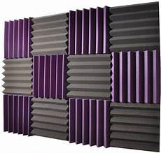 18pcs Acoustic Panels Tiles Studio Soundproofing by Home Studio Foam For Your Home Recording Studio