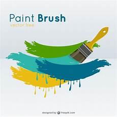 paint brush vector vector free download