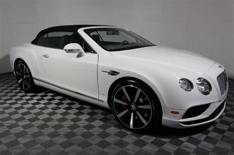 New 2017 Bentley Continental Gt Convertible Convertible In