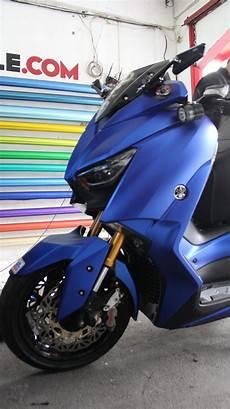 Stiker Motor Matic Keren by Wrapping Stiker Motor Xmax Fullbody Sticker Biru Doff