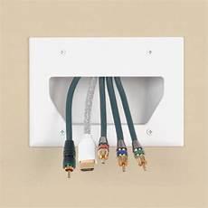 Passage Cable Tv Mural Capteur Photo 233 Lectrique
