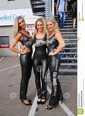 Dutch Grid Girls Promotion Team Zandvoort Editorial Stock