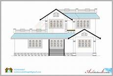 house plans and elevations in kerala 1600 square feet house plan and its 3d elevation