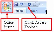 Apa Itu Office Button Dan Access Toolbar Dan