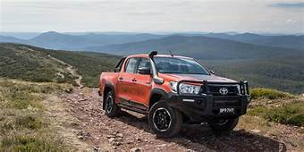 2018 Toyota HiLux Rogue Rugged And X Pricing