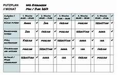 Putzplan Wie Den Haushalt Gekonnt Organisiert