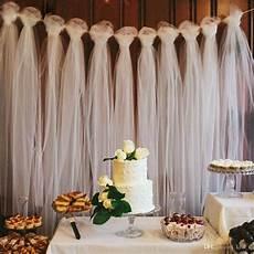 100 yards tulle wedding backdrop wedding decoration 15cm