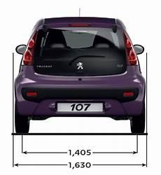 Peugeot 107 Technische Daten - peugeot peugeot 107 abmessungen technische daten