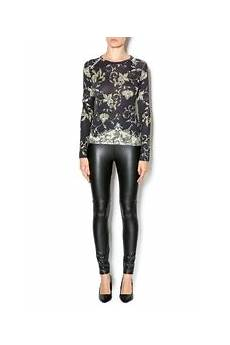 pashma crew neck top from wisconsin by aversa shoptiques