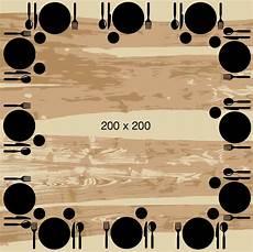 dimension table ronde 10 personnes quelles dimensions de table pour vos convives artmeta