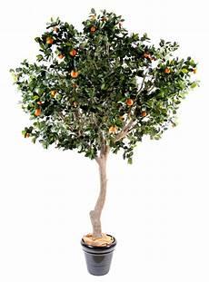 arbre fruitier intérieur arbre artificiel fruitier oranger int 233 rieur h 280 cm